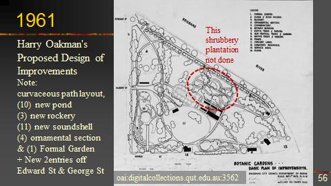 OBBG history 2017 Talk Oakman's Redesign 1961 plan