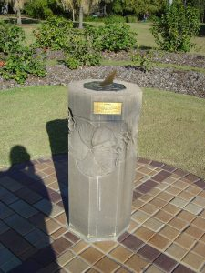 Sundial plinth (Photo 2004 D Edmonds)