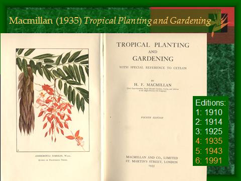 Garden Writers: Macmillan