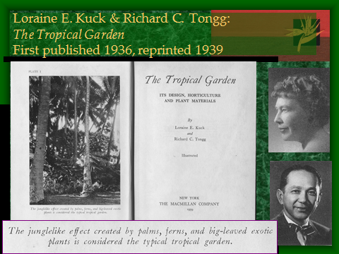 Garden Writers: Kuck and Tongg (1930s)