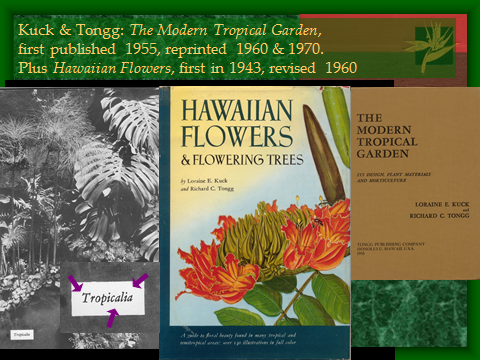 Garden Writers: Kuck and Tongg (1960s-1970s)