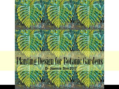 Title page for downloadable file of Planting Design Talk.