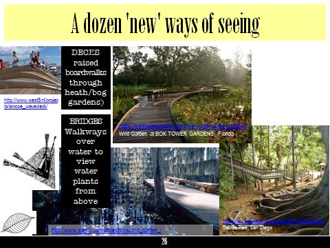 Ex Botanic Gardens planting design Talk: see 2