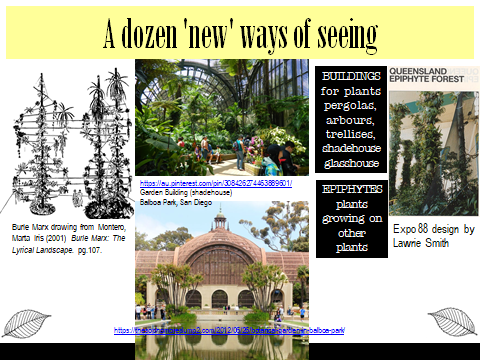 Ex Botanic Gardens planting design Talk: see 5